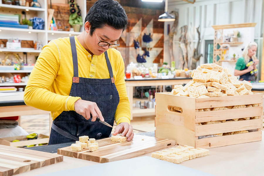 Khiem Nguyen woodworking challenge on Making It