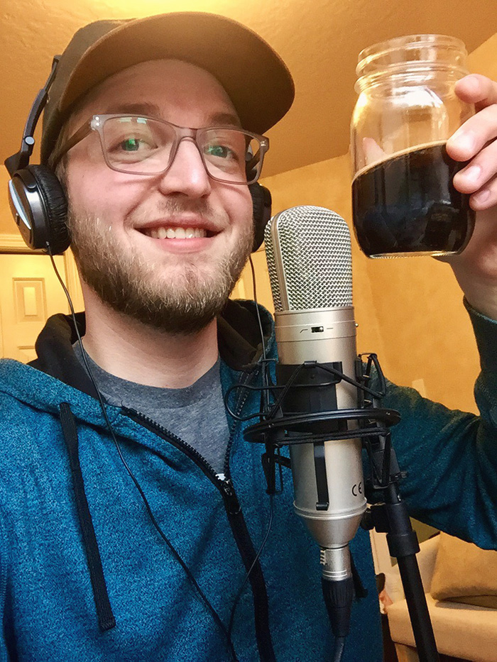 Scott Mathson Makerviews podcast host virtual beers cheers
