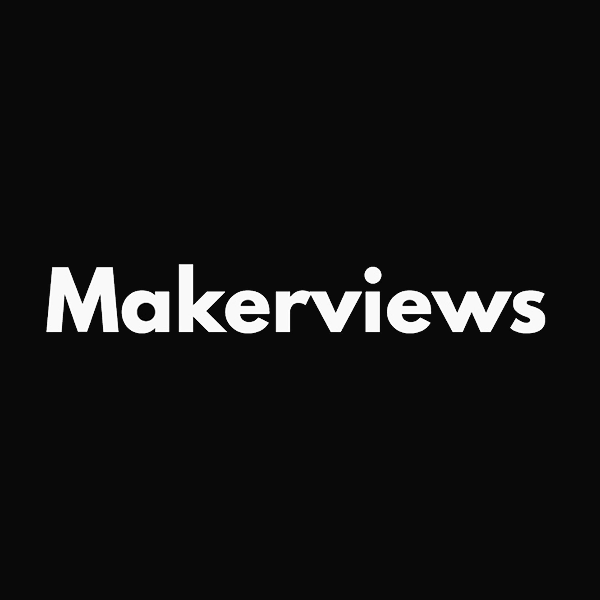 Makerviews podcast artwork
