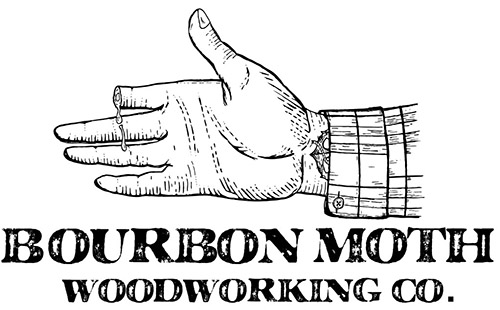 Bourbon Moth Woodworking logo