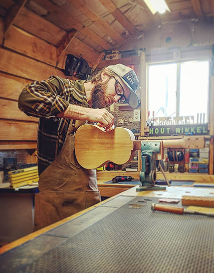 Interview with Daryl vanderGroef, Woodworker - Ukulele Maker