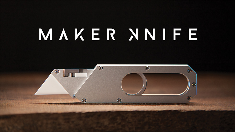 Maker Knife EDC tool by Giaco Whatever