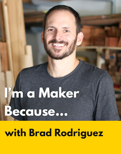 Brad Rodriguez maker interview