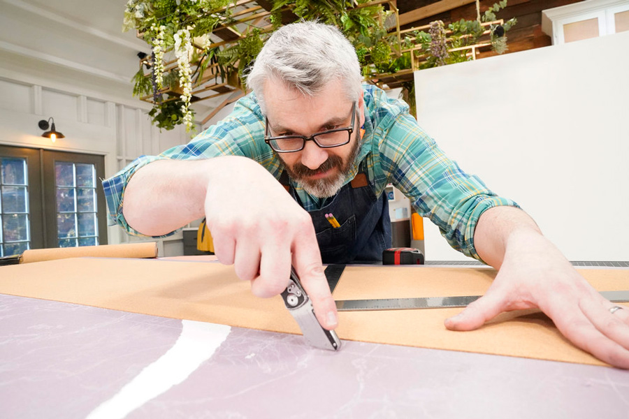 Jamie Hudson maker on extraordinary home episode of NBC's Making It
