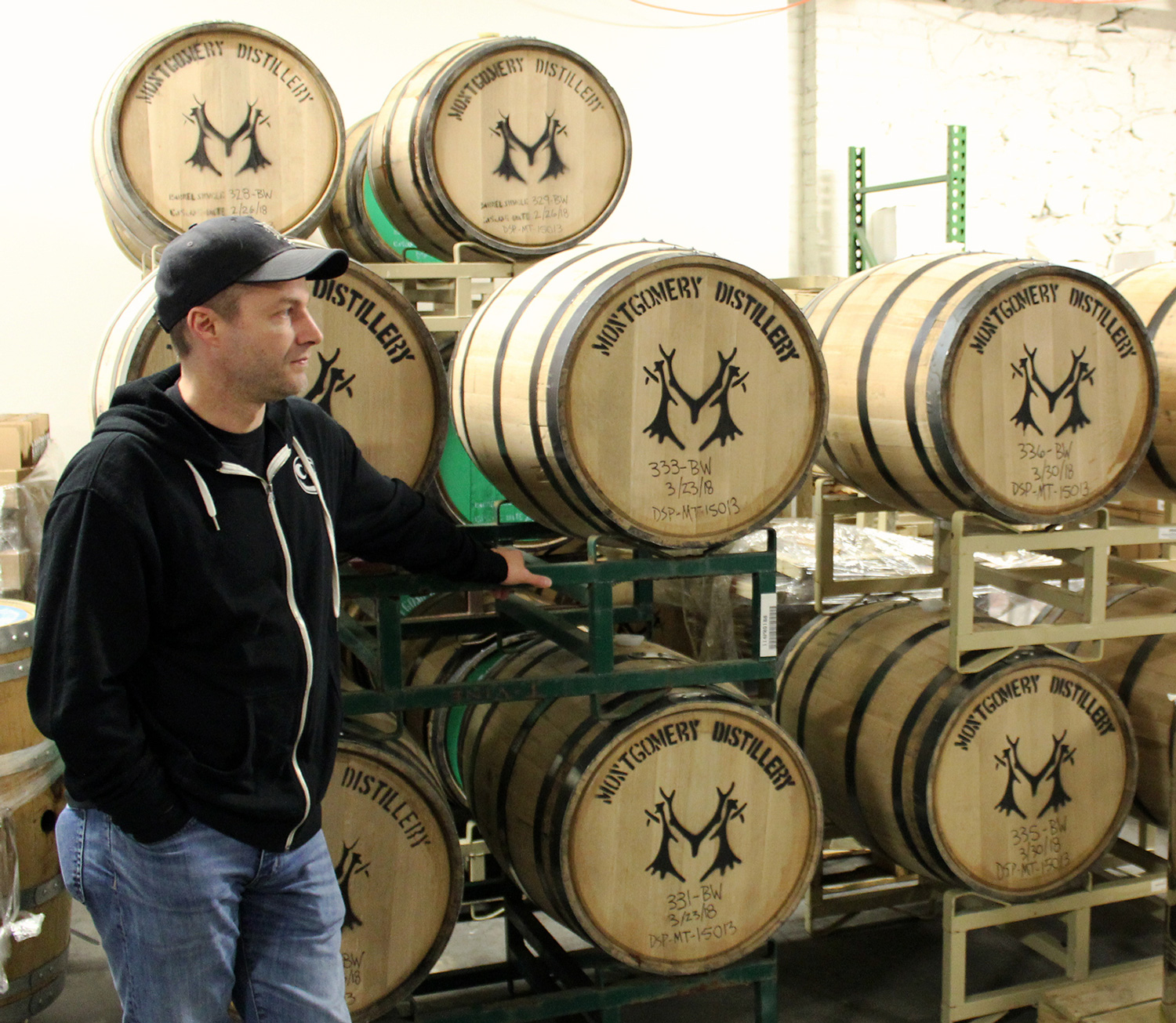 Ryan Montgomery, founder of Montgomery Distillery